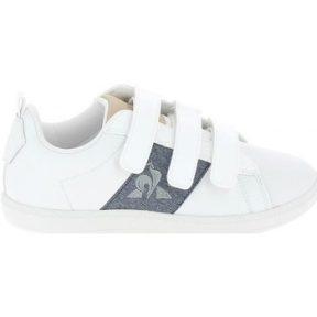 Xαμηλά Sneakers Le Coq Sportif Courtclassic PS Blanc Bleu