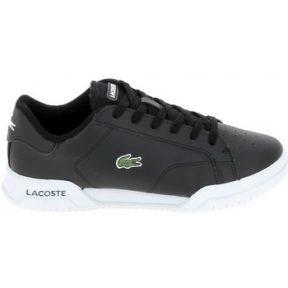 Xαμηλά Sneakers Lacoste Twin Serv Jr Noir Blanc [COMPOSITION_COMPLETE]