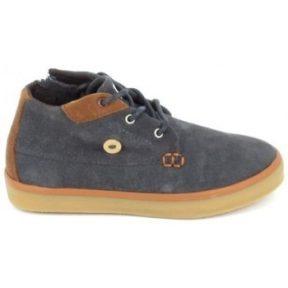 Ψηλά Sneakers Faguo Wattle Suede C Gris [COMPOSITION_COMPLETE]