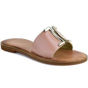 Δερμάτινo nude σανδάλι Iris Sandals IR201