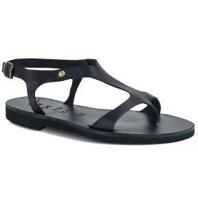 Δερμάτινο μαύρο σανδάλι Iris Sandals IR242